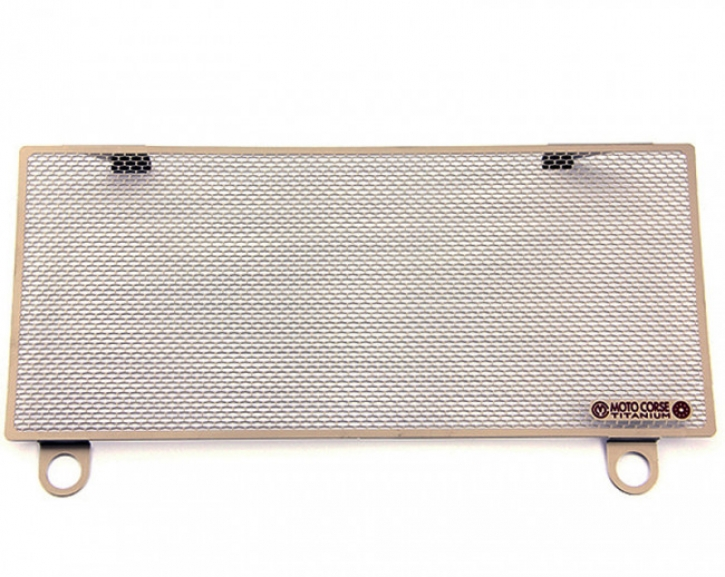 Moto Corse® titanium water radiator protection for Ducati Panigale 899/1199/1299