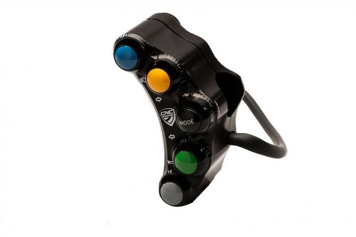 Ducati Panigale V4 left handlebar switch 8x - street use