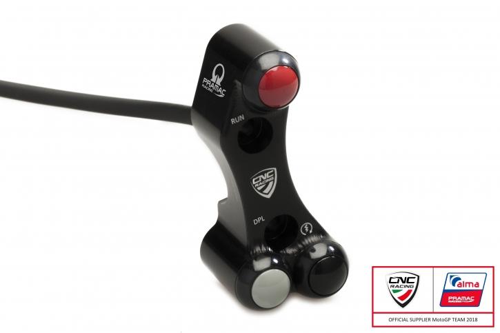 Ducati Panigale right handlebar switch PRAMAC edi. - Brembo OEM/ RCS MC