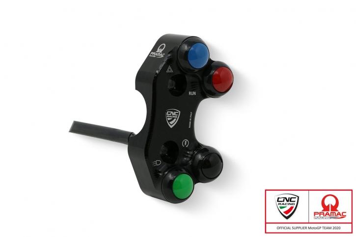 Ducati Hypermotard 950; M 821/ 1200 2019- rechte Schaltereinheit 4-fach Brembo RCS oder OEM Pumpe Pramac edition