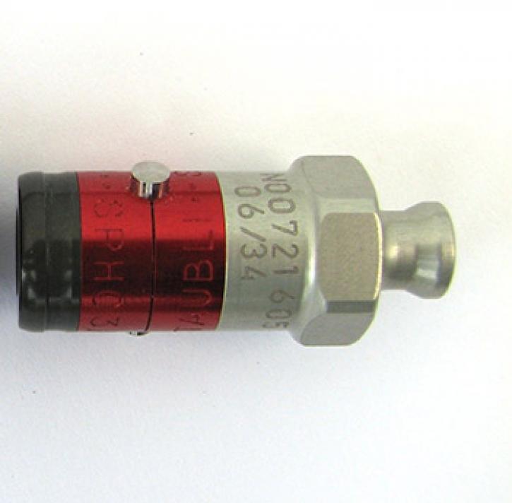Quick-coupler aluminum male (nippel) vario