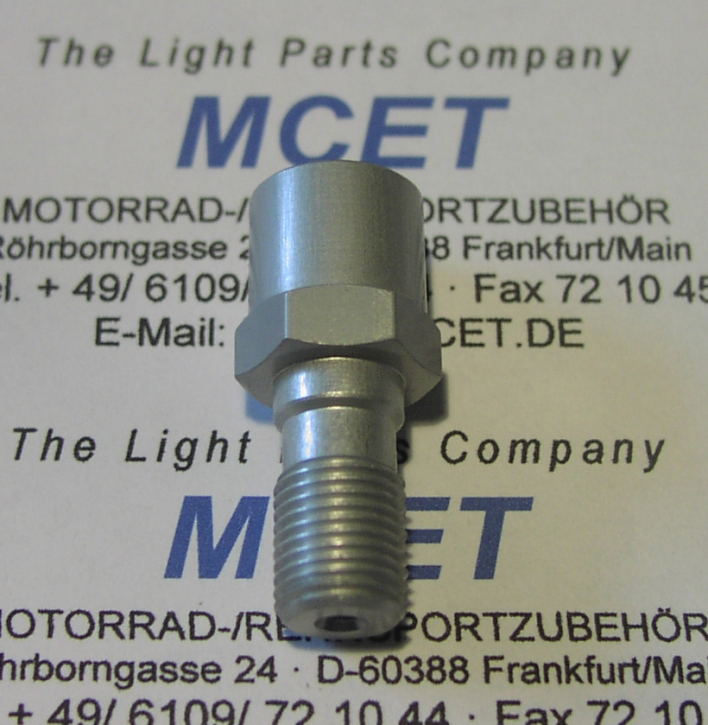 banjo bolt M 10 x 1.25 for Stop light switch M 10 x1.0
