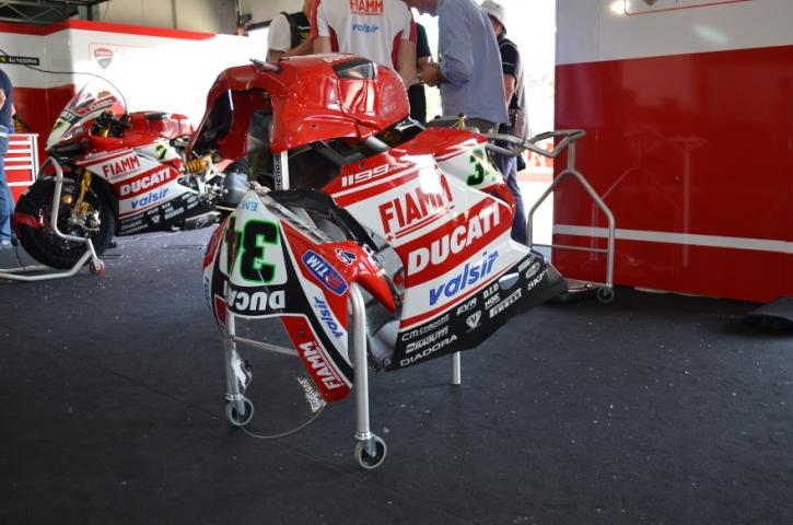Pierobon Verkleidungstrolley für Ducati 1199/ 899