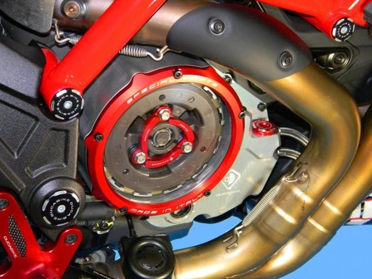 Ducati open wet clutch cover