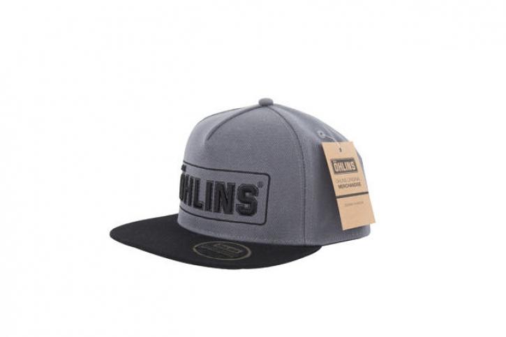 """snapback cap """" Ö """" grey/ black"""