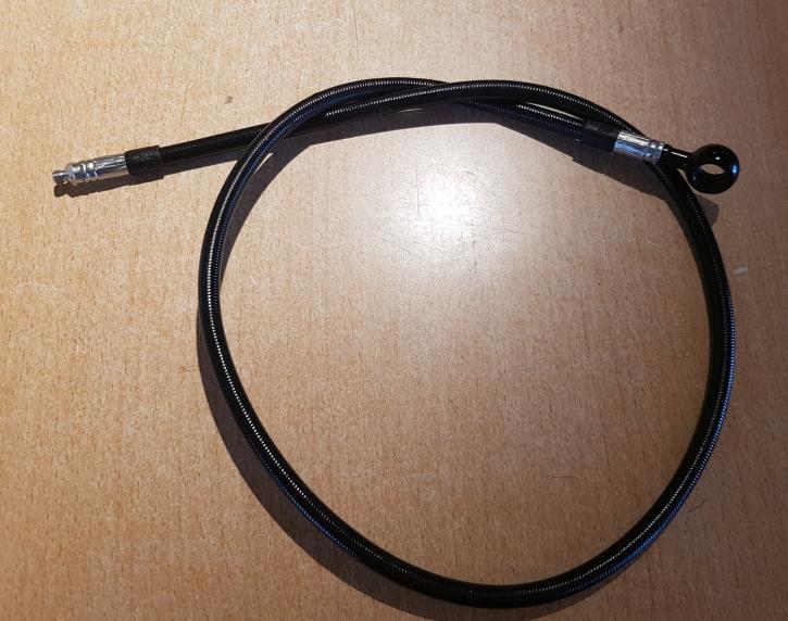 Stahlflex Bremsleitung 810 mm schwarz
