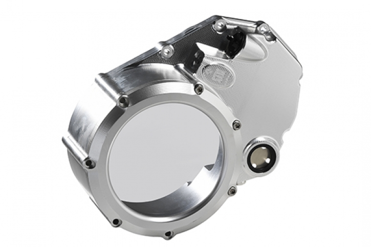STM Clear Clutch Cover for Ducati with wet clutch