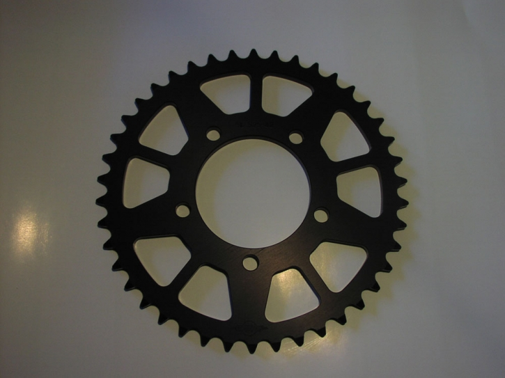sprocket pitch 525  42 tooth black for PVM