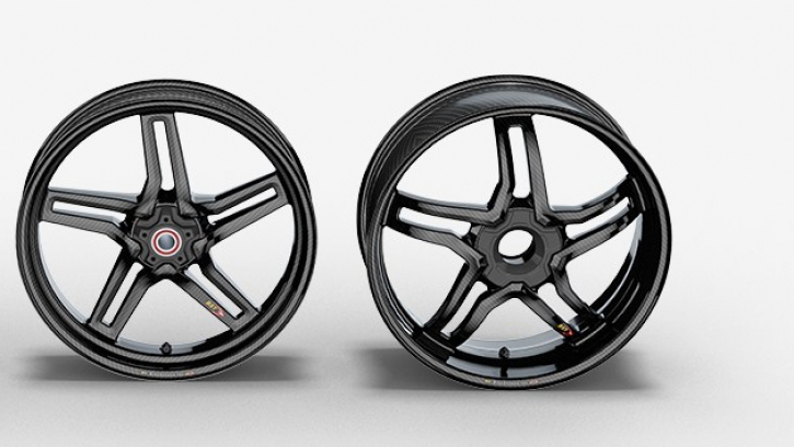 BST Rapid Tek 5 split spoke carbon wheels single side swingarm