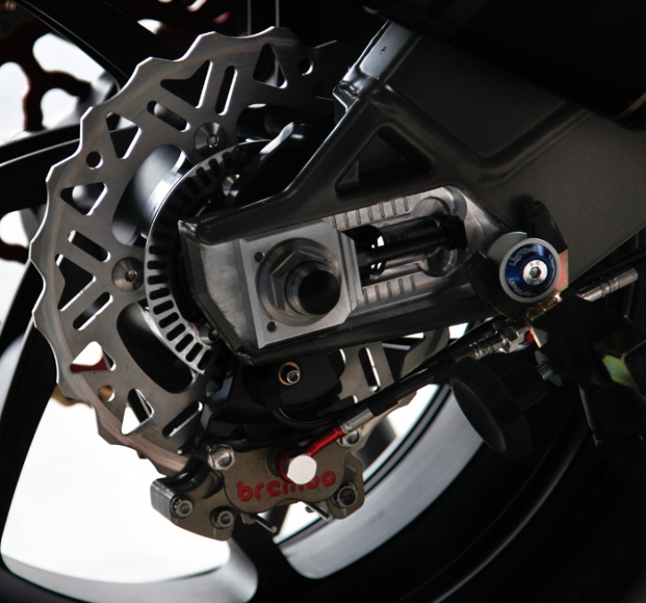 S 1000 RR rear caliper bracket for Brembo calipger
