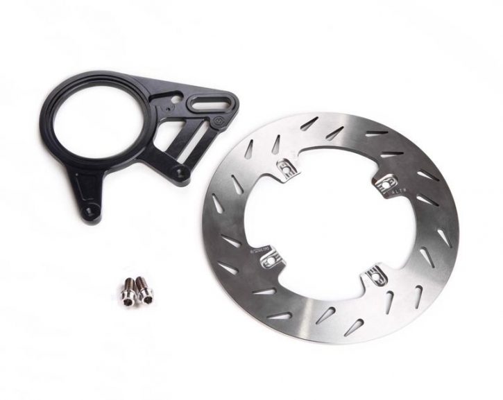 Moto Corse rear brake kit with 220 mm brake rotor