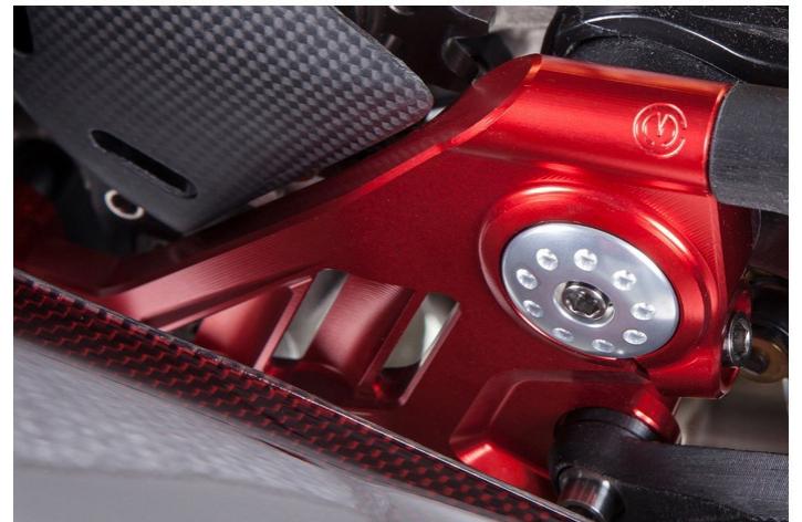 Moto Corse Rahmenplatten für Streetfighter V4