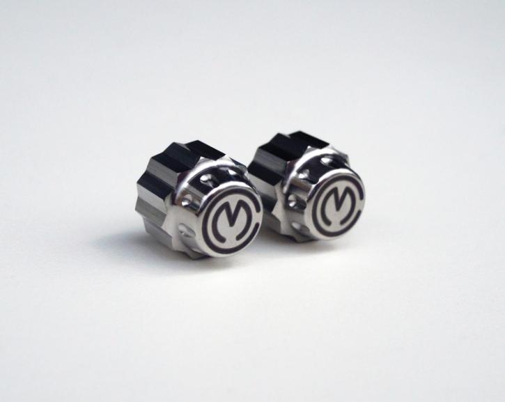 Moto Corse® titanium valve caps