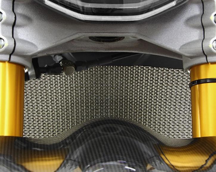 Moto Corse radiator guard XDiavel titanium