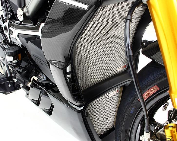 Moto Corse oil radiator guard XDiavel titanium