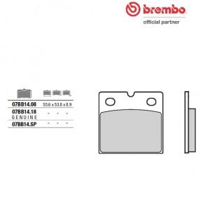 Brembo brake pad 07BB1418 old code (07BB1410)
