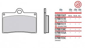 Brembobelag Sinter für  P4 30/34 axial CNC