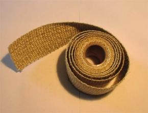 Hitzeschutzband bis 1000°C beige