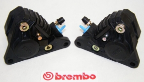 Original Brembo caliperkit P2F04N/4, black, re-new, left and right side