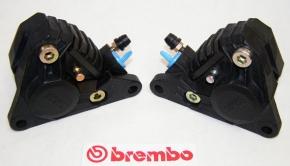Satz originale Brembo Bremszangen P2F04N/4, schwarz, revidiert, links und rechts