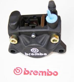 Brembo Bremszange P32F, schwarz rechts