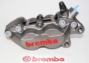 Brembo Bremszange P4 30/34, Titanium Finish rechts