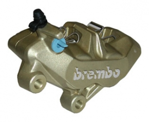 Brembo Bremszange P4 34/34, gold, links