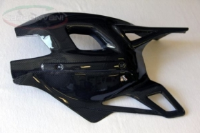 carbon fibre swingarm guard MV Brutale 10-