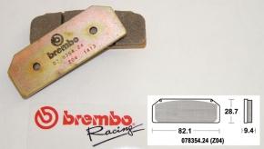 Brembo Bremsbelag Z04 für P4 34/38