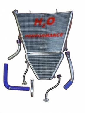 Wasser-/ Öl kühler GSX-R 1000 10 Race
