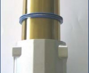 Hubindicator für 45 mm Standrohrdurchmesser rot