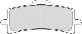 Bremsbeläge für Brembo M4 GP4 RX mit CMC Bremsscheibe