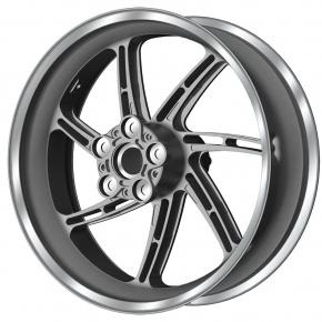 PVM 7 H - Speichen Radsatz Aluminium