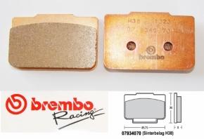 Brembo Bremsbelag für P4 / 24 / 24 mm sinter