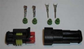 Stecker AMP 2 polig