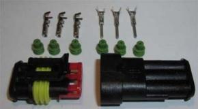 Stecker AMP 3 polig