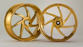 "Marchesini aluminium forged Alu Forged 17 inch, ""Genesi M7RS"", set, singleside"