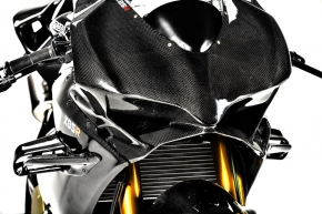 carbon fibre winglets for Panigale V2