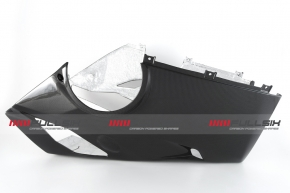 Carbon Bugwanne für Akrapovic Slip-on für Ducati Panigale V4