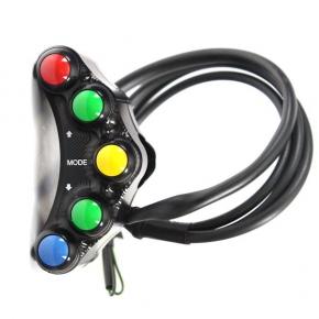 For ZX 10 R 16- switchgear race plugin LH 5 buttoms