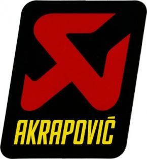 Akrapović Aufkleber off-road klein neues Logo