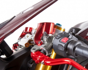 Moto Corse fluid tank kit cnc for Brembo semi radial MC brake and clutch