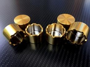Bremskolben Titan für Brembo P4 CNC Zange